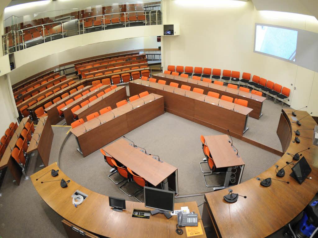 Gerichtssaal am OLG München